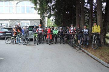 Bikeweekend Davos mit viel Sonne im Herzen