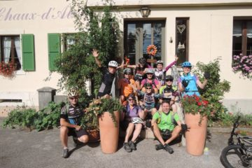 Bike & Yoga mit Fäbu und Pierina